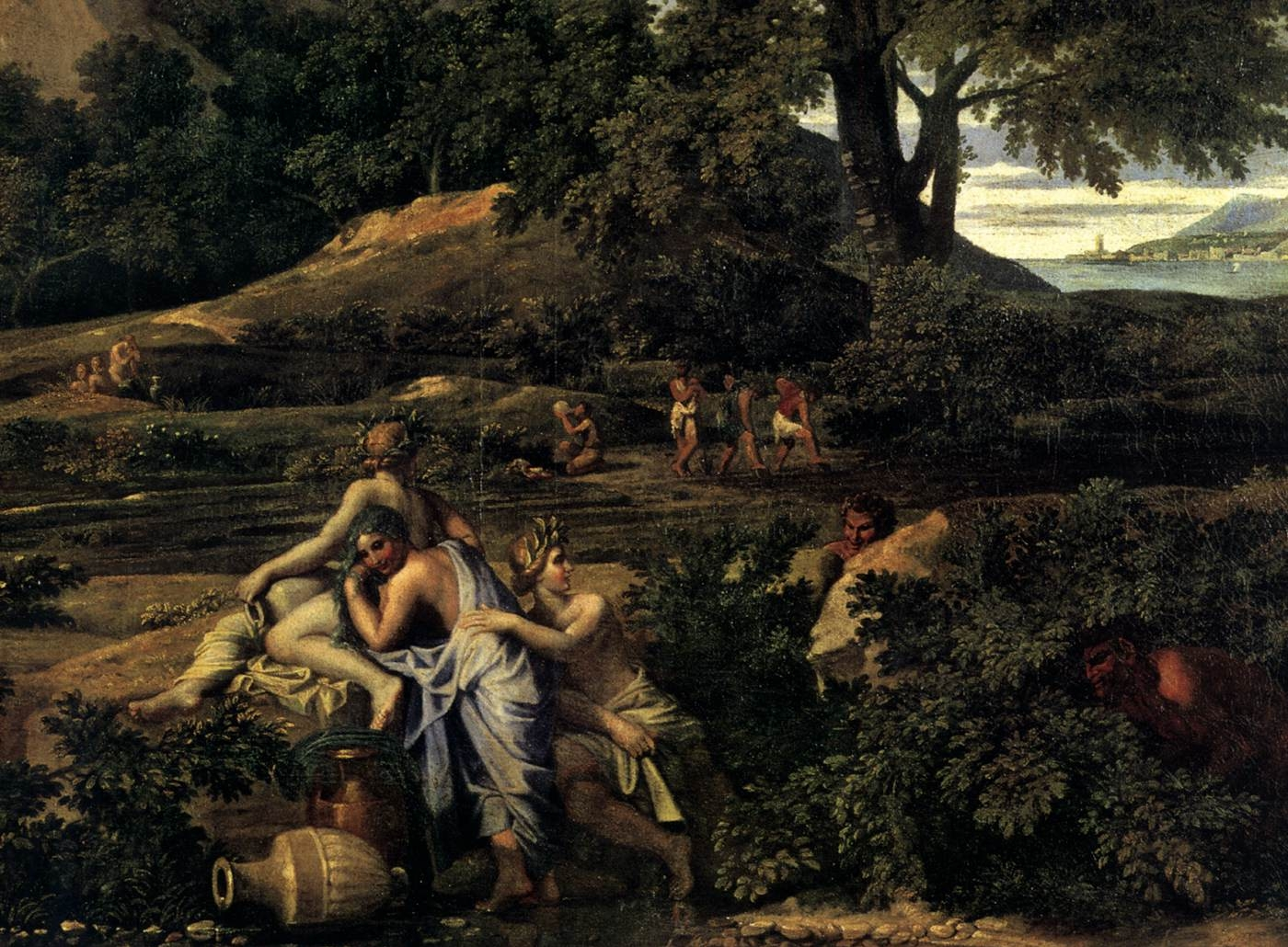 1648 Nicolas Poussin Paesaggio Con Polifemo 1648 Part Hermitage