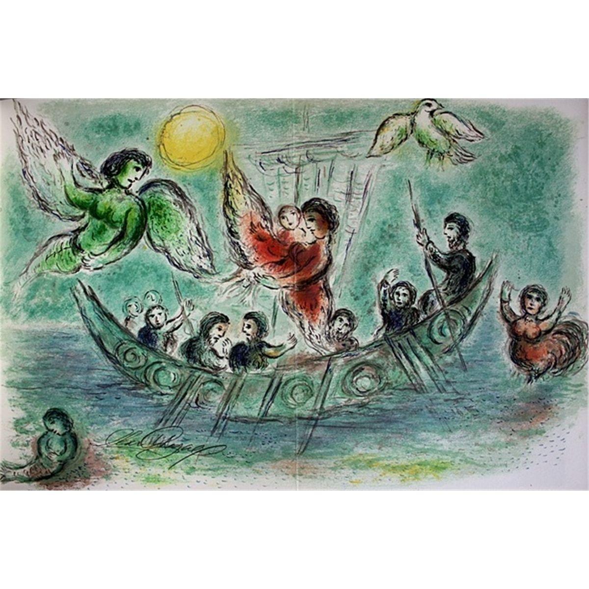 1974 75 Marc Chagall Il Canto Delle Sirene 1874 75